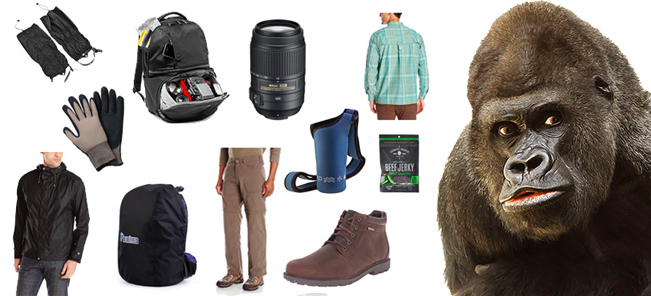 Gorilla Trekking Gear to Buy